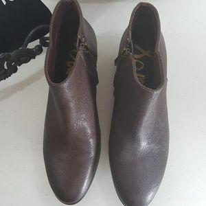 Sam Edelman Shoes - Sam Edelman Petty ankle boot chocolate brown 8.5